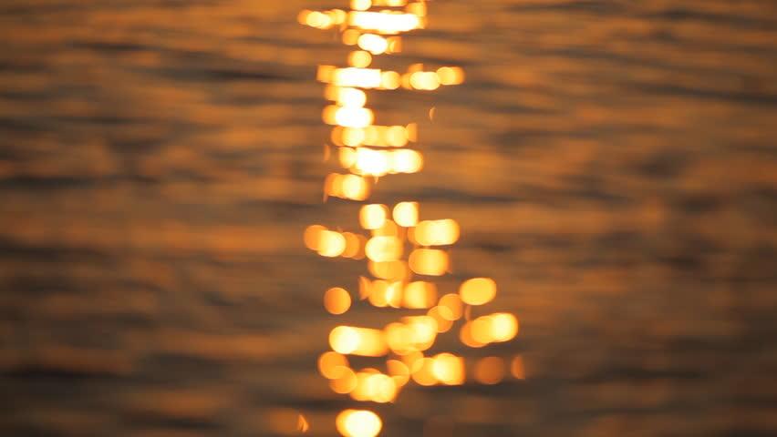 Sunrise on the island of Santorini