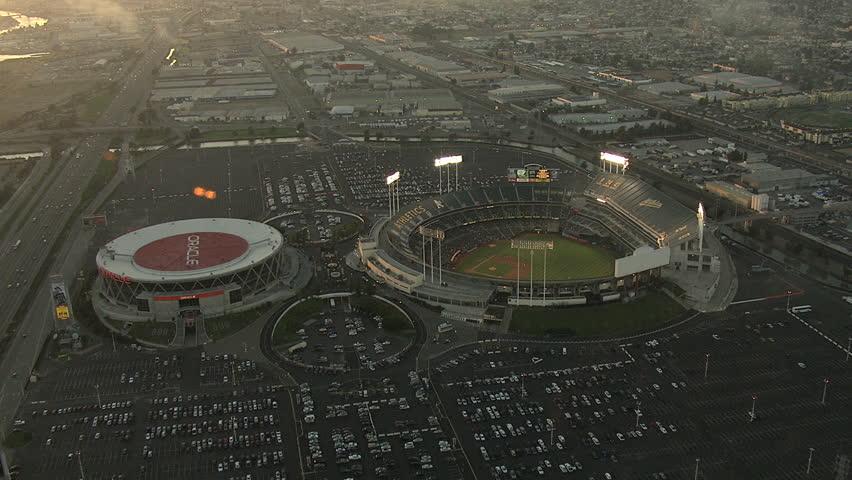 CALIFORNIA CIRCA 2014: Aerials USA Francisco California USA Stadium Baseball