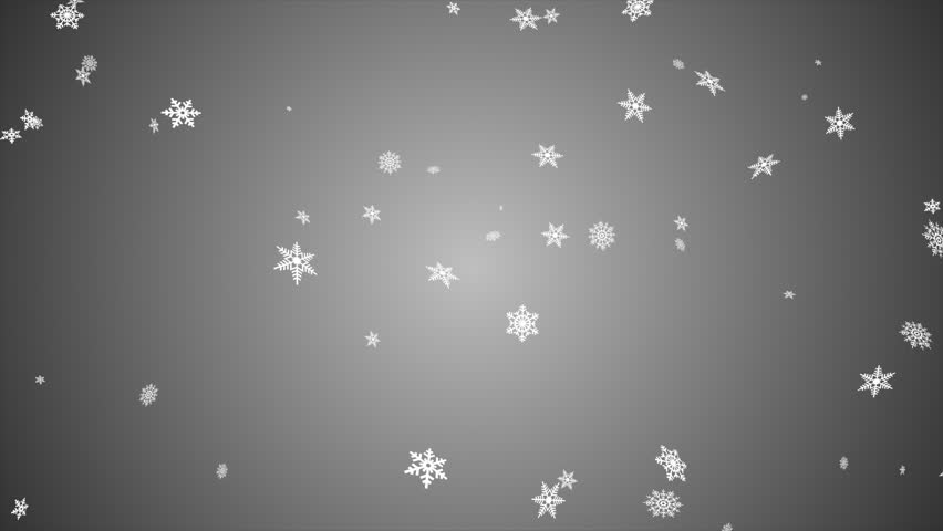 Snowfall background, seamless loop, black and white   Shutterstock HD Video #12486896