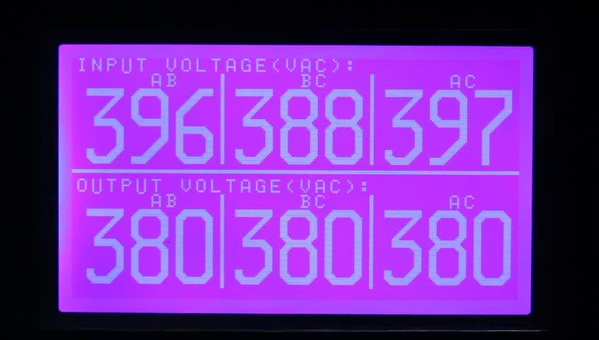 Automatic Voltage Regulator, 3 Phase Voltage Stabilizer | Shutterstock HD Video #12508604