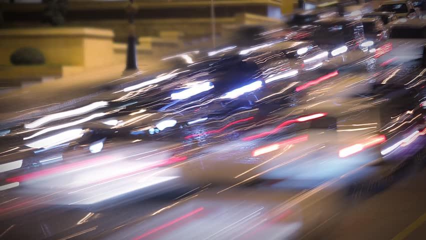 Night traffic time lapse | Shutterstock HD Video #12514970
