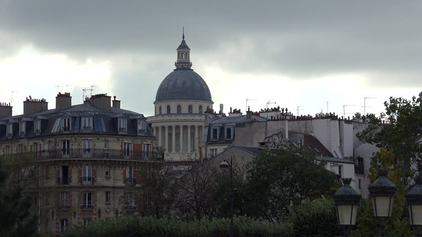 Paris. Architecture, attractions, old houses, streets and neighborhoods. Iconic locations. Shot in 4K (ultra-high definition (UHD)). | Shutterstock HD Video #12588335