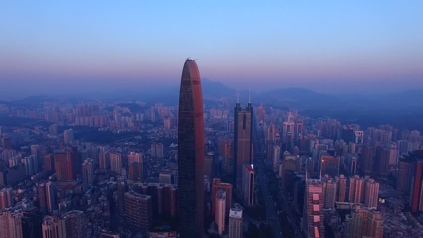Shenzhen city scenery | Shutterstock HD Video #12607040