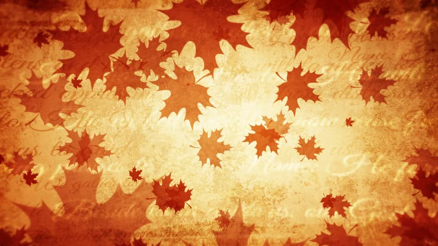 Thanksgiving day vintage background, old ancient, fall, autumn background