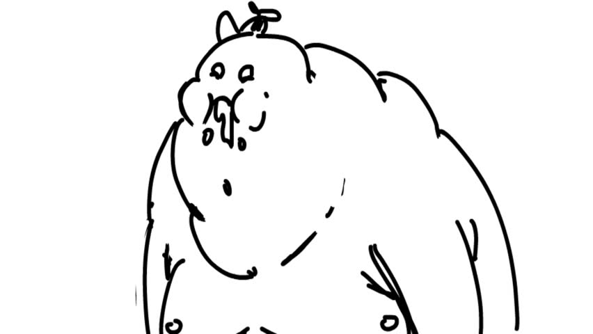 Fat ugly guy black 35 Pretty