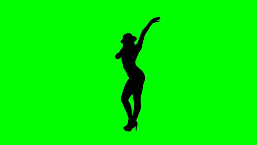 Female Jazz Dancer Silhouette On Stock Footage Video 100 Royalty Free 12690692 Shutterstock