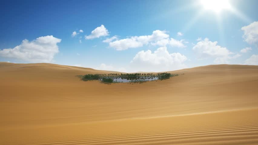 Mirage appearing on the Desert, 4k, UHD   Shutterstock HD Video #12751682