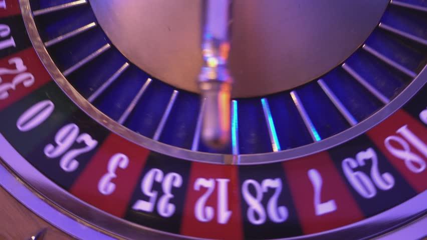 Roulette Wheel in a casino - 16 red wins | Shutterstock HD Video #12838070