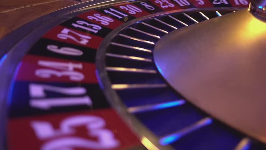 Spinning Roulette Wheel - ball falls on field 20 black | Shutterstock HD Video #12838274