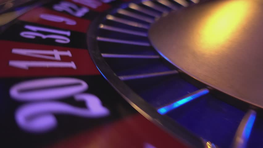 The numbers of a roulette wheel - extreme close up | Shutterstock HD Video #12838277