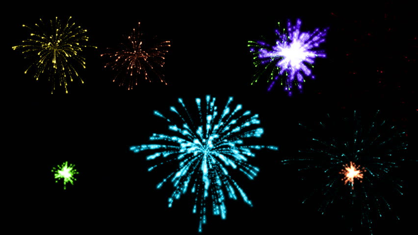 Fireworks colored  | Shutterstock HD Video #12891134