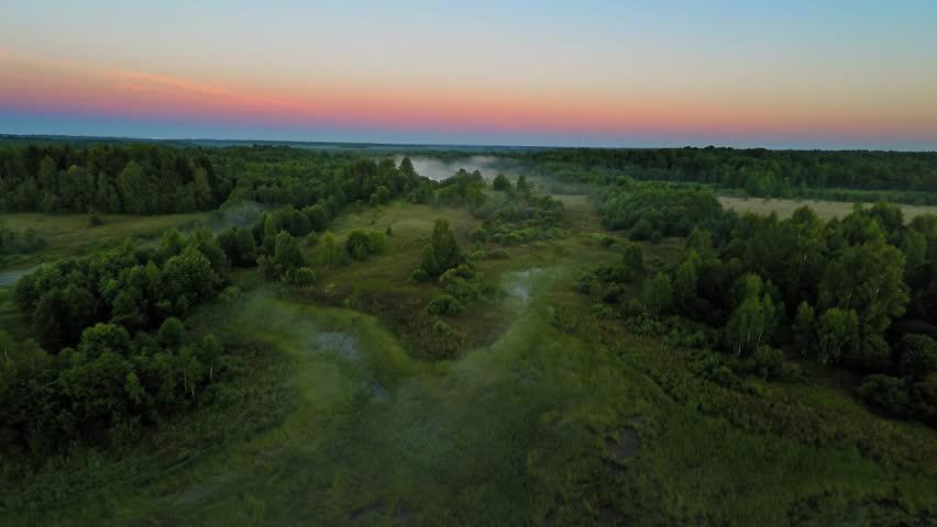 Russia, Novgorod region, august 2015 (Aerial Drone flights)   Shutterstock HD Video #12912614