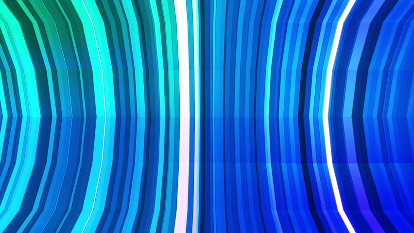 Broadcast Twinkling Vertical Bent Hi-Tech Strips, Blue Cyan Green, Abstract, Loopable, HD | Shutterstock HD Video #12925916