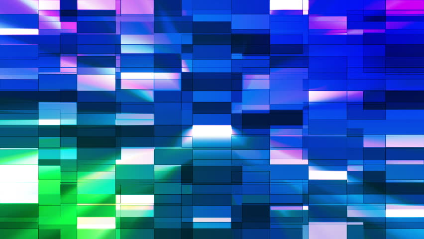 """This Background is called """"Twinkling Horizontal Small Squared Hi-Tech Bars 38"""", which is 1080p (Full HD) Background. It's Frame Rate is 29.97 FPS, it is 7 Seconds long, and is Seamlessly Loopable. 