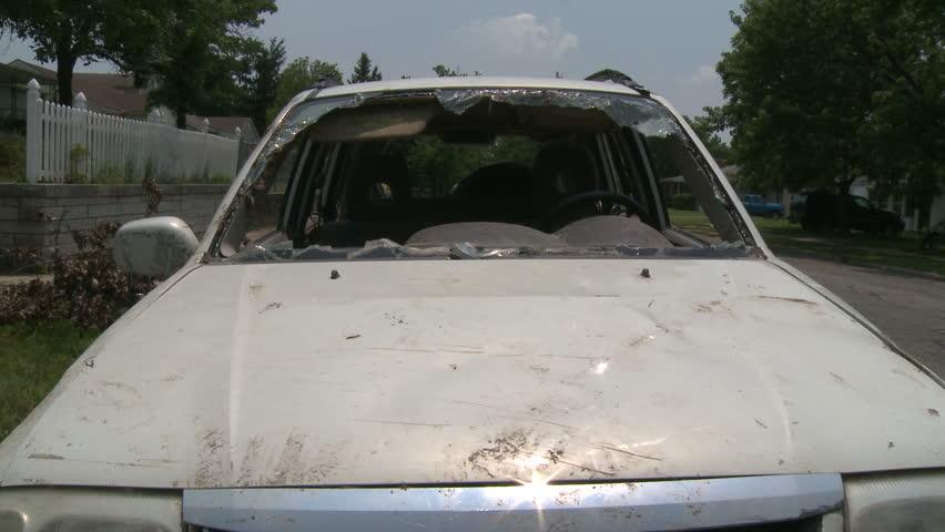 Damaged Car v.02