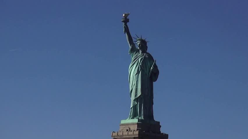 Statue of Liberty on Liberty Island New York | Shutterstock HD Video #13055789