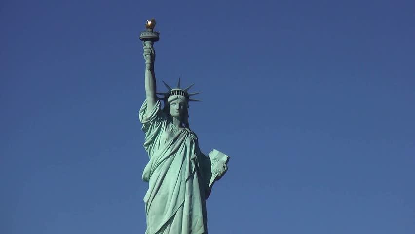 Statue of Liberty on Liberty Island New York | Shutterstock HD Video #13055861