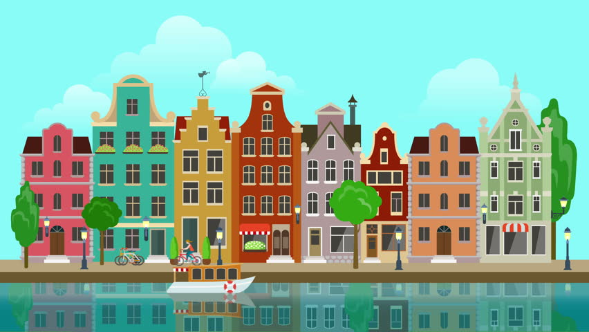 Flat Cartoon Multicolored Colorful Historic Stock Footage Video (100%  Royalty-free) 13064090 | Shutterstock