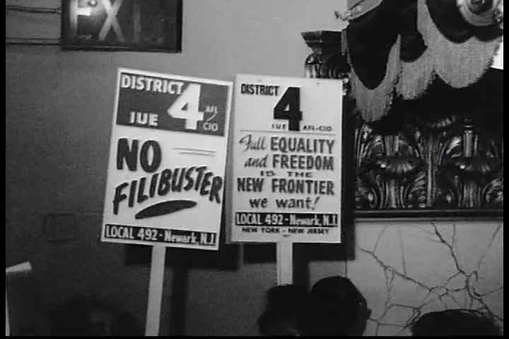 CIRCA 1960s - Civil Rights leader, Benjamin D in the 1960s. McClaren gives a speech at an AFL-CIO civil rights rally in the 1960s.