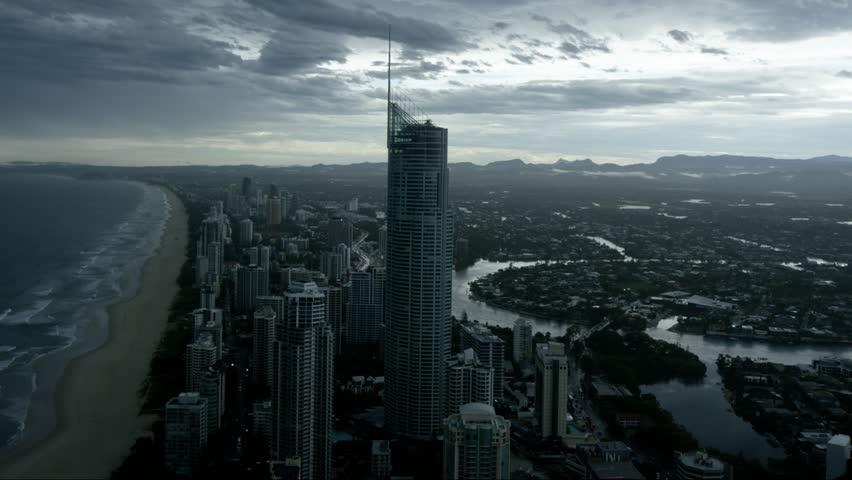 Gold Coast as Skies Clear | Shutterstock HD Video #13102739