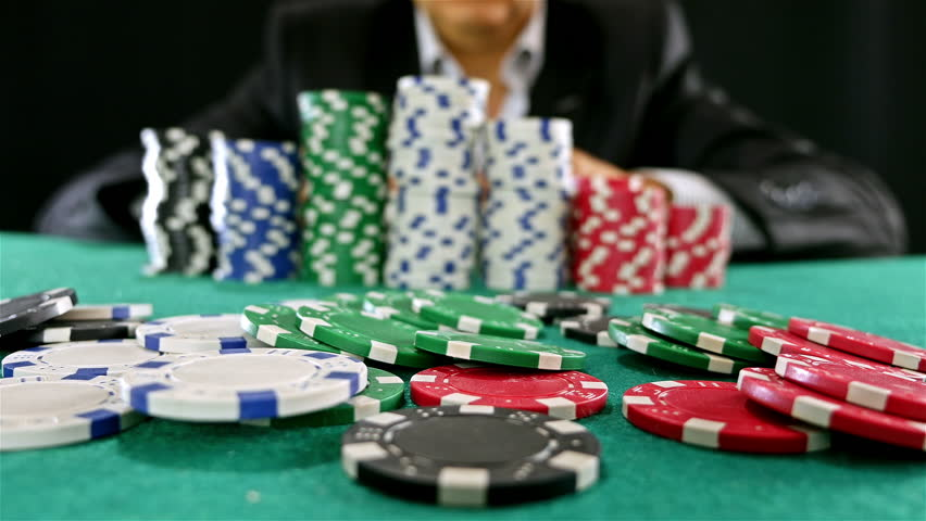 A Gambler at a Poker Stock Footage Video (100% Royalty-free) 13105745 |  Shutterstock
