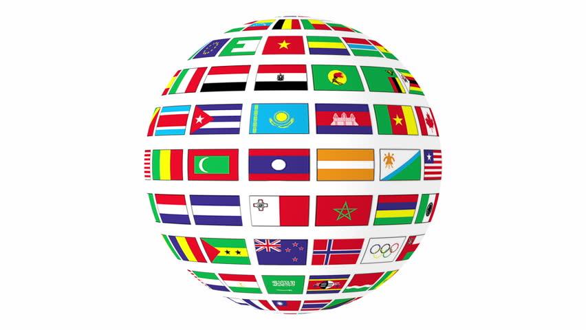 Картинки мы за мир с флагами стран