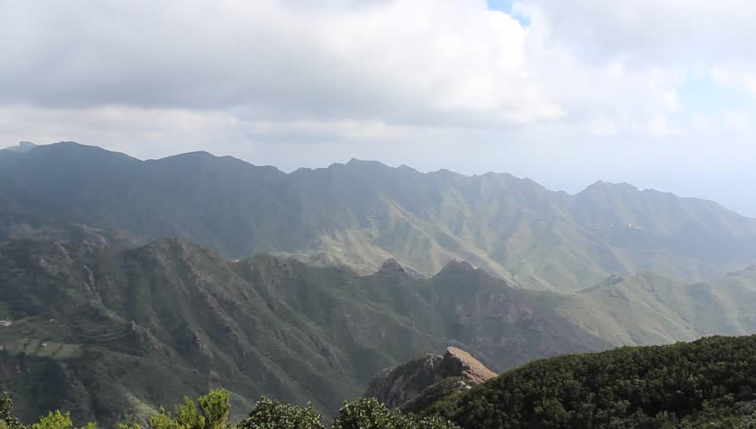 Green mountain landscape - Masca, Tenerife, Spain #13123100