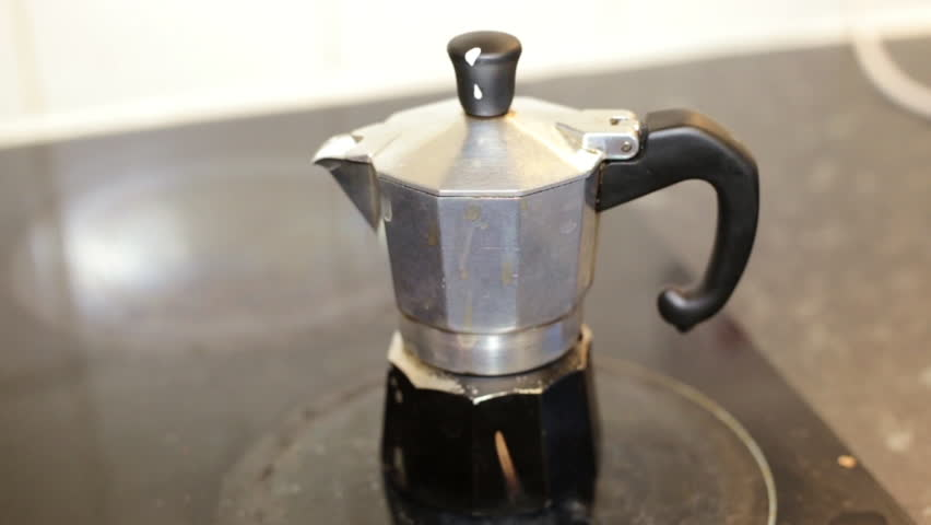 Moka Pot Italian Traditional Coffee