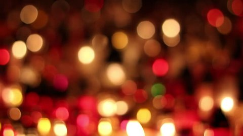 Bokeh lights abstract background candles
