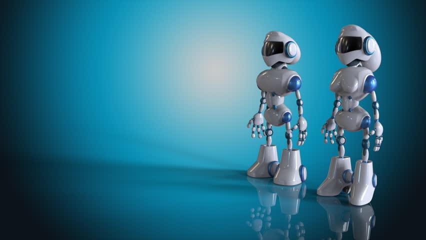 Фон роботы для презентации