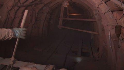 Underground mine iron ore and coal