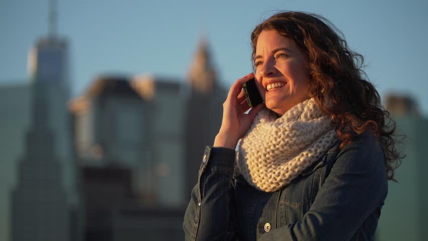 A beautiful woman experiences New York City.   Shutterstock HD Video #13207505