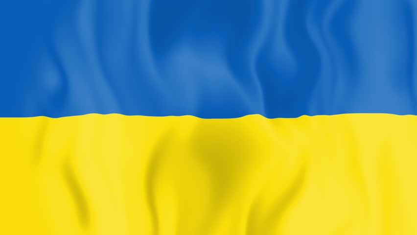 украина картина флаг