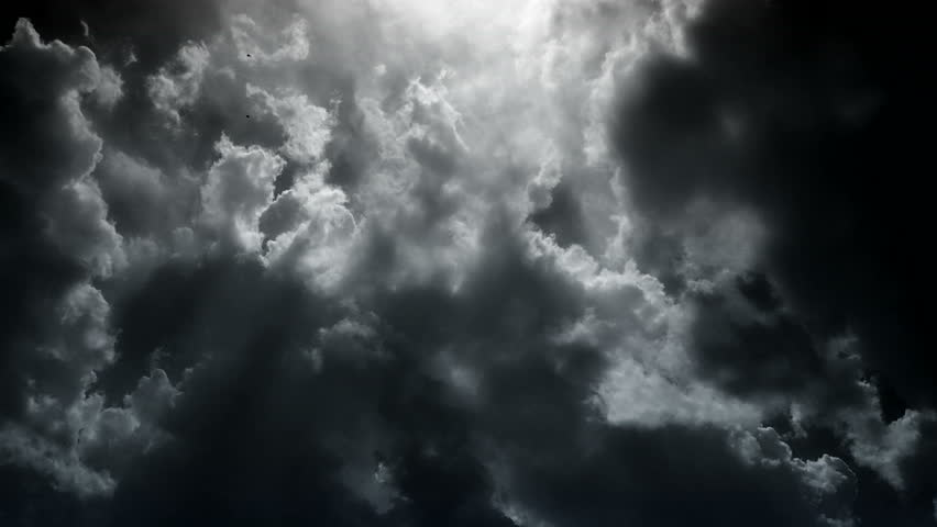 Dramatic sky with stormy clouds #13238228