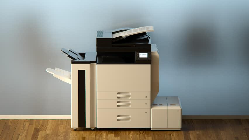 02407 Office Printer Strange Behave