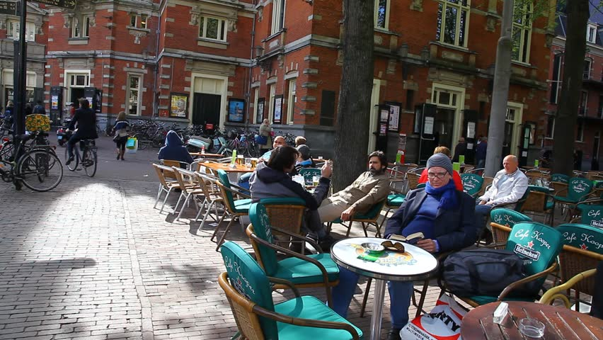 Amsterdam April 10 People Stock Footage Video 100 Royalty Free 1333045 Shutterstock