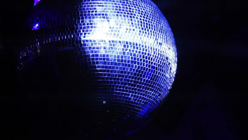 Rotating mirror disco ball in restaurant   Shutterstock HD Video #13390928