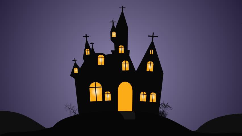 Halloween night walking zombies motion graphics   Shutterstock HD Video #13416626