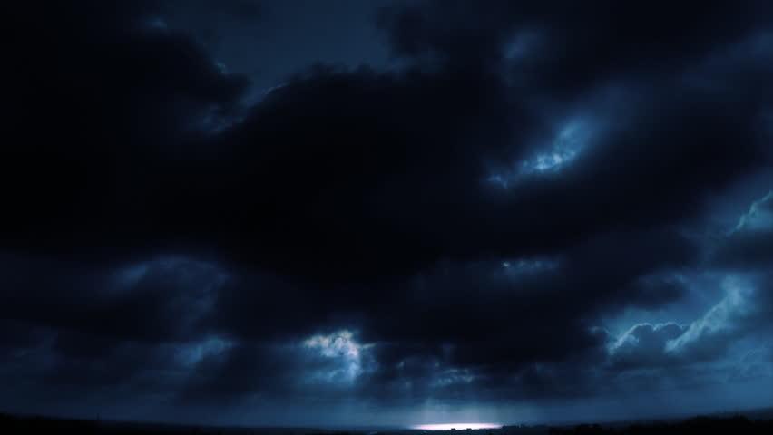 Ocean Horizon Blue Loop Time Lapse | Shutterstock HD Video #1344733
