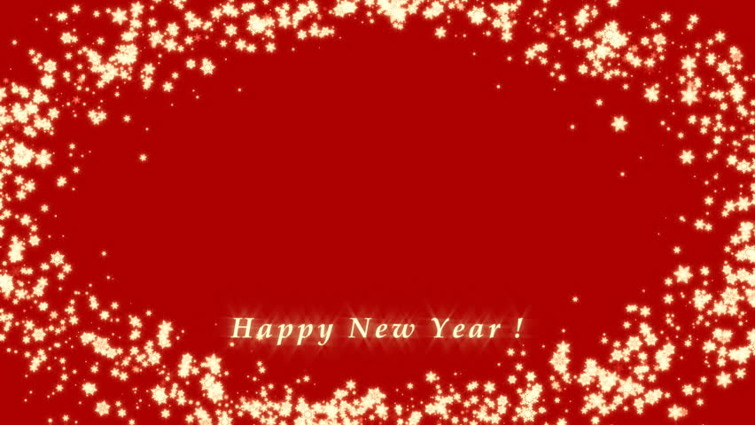 Happy New Year Christmas 3d Frame Winter Stock Footage Video 100 Royalty Free 13488488 Shutterstock