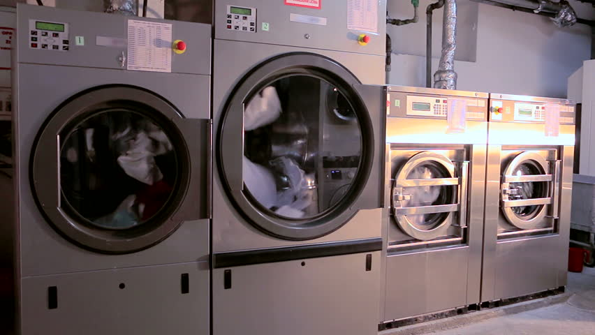 Large Industrial Washing Machines in Stock Footage Video (100%  Royalty-free) 13511189 | Shutterstock