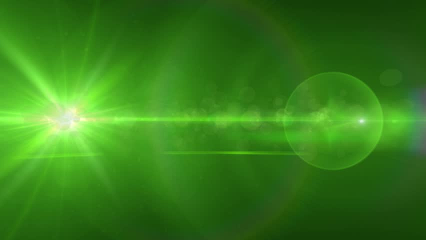 Bright green light flares abstract background | Shutterstock HD Video #13520897