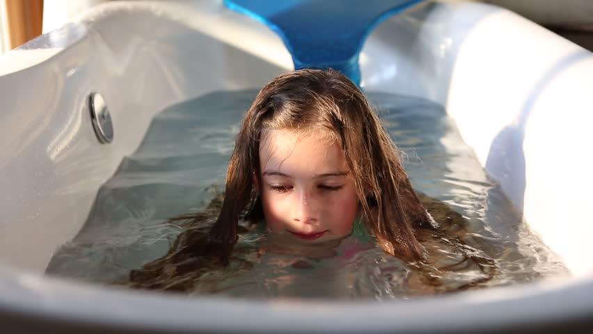 Nine-year-old girl suffers horrific burns filling up hot