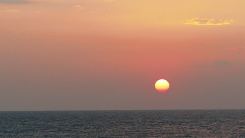 Beautiful Sunrise with sea