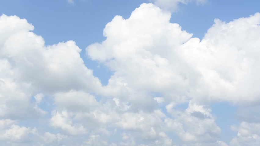 Timelapse of moving clouds and blue sky | Shutterstock HD Video #13630559