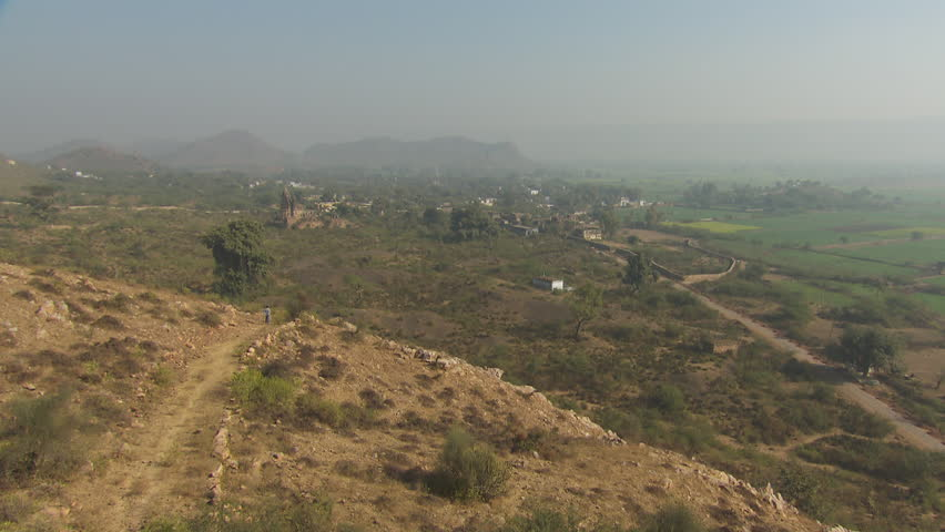 A static shot of a houses and buildings,Rajasthan,India | Shutterstock HD Video #13631174