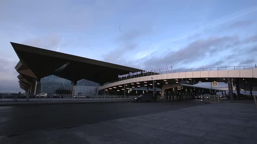 Saint Peterburg Pulkovo Airport.
