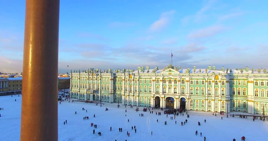 петербурге дворцовая площадь зимний дворец открытка дверь