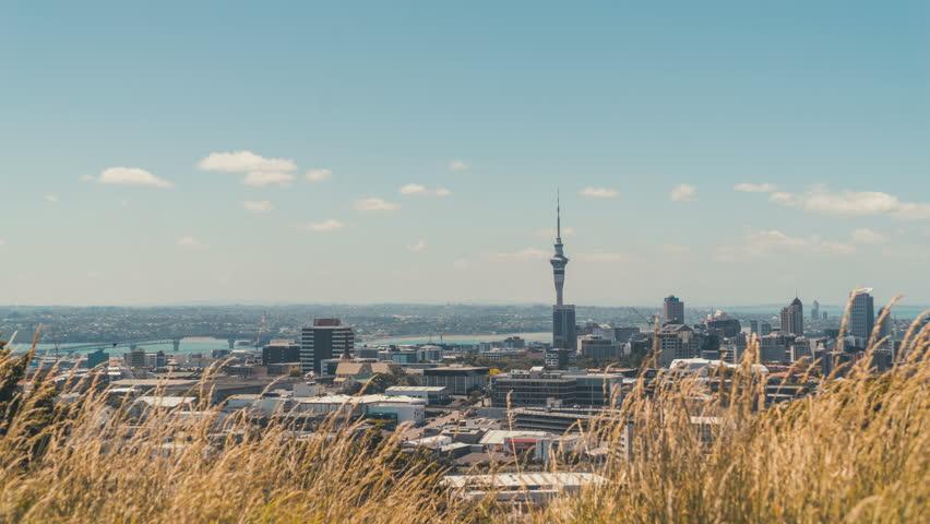Auckland City timelapse from MT Eden | Shutterstock HD Video #13668089