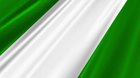 Nigeria Flag Loop 2